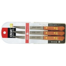 Набор ножей для стейка 3 пр.(блистер) Calve CL-3030
