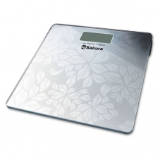 Весы Sakura SA-5071FS элек. напол.серебр 150кг