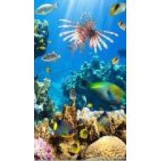 Газовая колонка Superflame SF0120 10л. стекло, подводный мир
