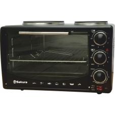 Тостер-печь Sakura SA-7016 HBK 28л чер