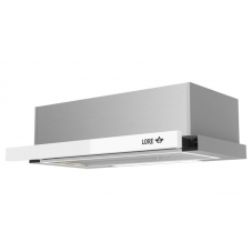 Кухонная вытяжка LORE HRM 600 белое стекло