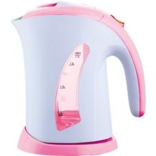 Чайник Sakura SA-2508P бел/роз