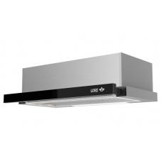Кухонная вытяжка LORE HRM 600 черное стекло