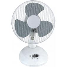 Вентилятор настольный Sakura SA-13G бел/сер