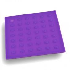 Подставка п/горячее силикон.квадрат. №1 Катунь KT-S-102