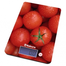 Весы Sakura SA-6075 Т кух  8кг элек томаты